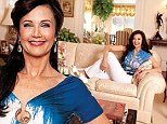Fit for a superhero: Wonder Woman Lynda Carter shows off her luxurious 20,000 square foot Maryland mansion