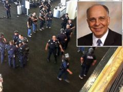 PHOTO: Leon Saryan was approached by a gunman while in the security line at Los Angeles International Airport, where a shooting took place on Nov. 1, 2013.