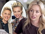 'I didn't want to be a lesbian': Portia de Rossi on her beliefs that being gay was 'strange' in revealing interview