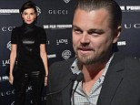 Leonardo DiCaprio fills in for absent Martin Scorsese while Camilla Belle overdoes it with leather at LACMA movie screening