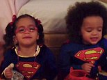 Dem(super)babies: Mariah Carey and Nick Cannon's twins steal the show in Superman and Supergirl Halloween costumes