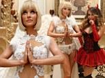 She's no angel! Real Housewives star Joanna Krupa looks heavenly in skimpy Halloween garb