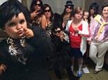 Honey Boo Boo and family hilariously transform into a 'redneck' Kardashian klan for Halloween