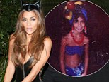 ¿Chica chica boom chic!¿ Nicole Scherzinger proves she¿s always had a penchant for dress up as she shares Halloween flashback photo