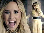 Demi Lovato wears her heart on her sleeve for elegant and uplifting Let It Go music video for Disney animation Frozen