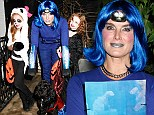 We have a winner! Brooke Shields' electric blue citibike outfit earns her top spot as this year's most bizarre Halloween costume