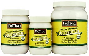 Nutiva Coconut Oil recommended to help with losing weight