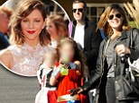 Smash director Michael Morris goes trick-or-treating with wife and kids... less than two weeks after kiss with Katharine McPhee