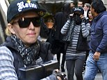 Madonna tries to go incognito at Kabbalah service in NYC