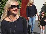 Looks like sassy runs in the family! Sarah Michelle Gellar and daughter Charlotte embrace rocker chic in black outfits and sunglasses