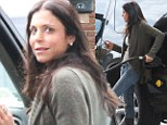Not too posh to pump! Bethenny Frankel proves she's down-to-earth as she fills up her SUV with gas during birthday weekend in East Hampton