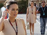 And new mother to be Tamara Ecclestone stayed true to her families line of work by attending the Formula One World Championship on Sunday with her dad Bernie