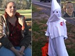 A mother from Virginia allowed her seven-year old son to dress up like a Klansman from the Ku Klux Klan because it was family tradition when she was growing up
