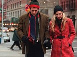 Tragic: John F. Kennedy Jr. - the son of President Kennedy - is seen here with wife Carolyn Bessette-Kennedy. The couple died when JFK Jr.'s plane crashed in 1999