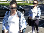 Baby on board! Olivia Wilde is blooming lovely as she shows off her growing bump after a Pilates workout