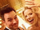 'I married the love of my life!' Brian Gallagher gushes on Twitter after wedding Smash star Megan Hilty in Las Vegas