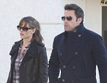 Adult time: Jennifer Garner and Ben Affleck step out without their children on Saturday