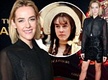 She's on fire! Jena Malone is worlds away from her Pride & Prejudice days as she dons sheer blouse and cut-out miniskirt for Hunger Games: Catching Fire tour