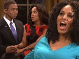 Double threat! Kerry Washington plays Oprah and Michelle Obama