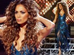 She's a (disco) diva! Nicole Scherzinger opts for huge hair and a VERY low-cut dress on The X Factor