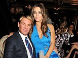 Back on: Elizabeth Hurley and Shane Warne's wedding is going ahead after their split, which was caused by intimate messages found on the Australian cricketer's mobile phone
