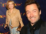 Living After Midnight! Hugh Jackman and Barbara Walters lead the way at Broadway opening of jazz musical