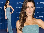 Kate Beckinsale dazzles in shimmering mermaid-style dress at LA gala