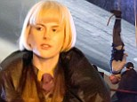 Nicole Kidman is in London filming scenes for new film Paddington about Paddington Bear, in which she plays an evil taxidermist called Millicent.