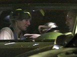 Not the most romantic of date nights! Gwyneth Paltrow and husband Chris Martin were seen dining out in Los Angeles on Sunday night, with daughter Apple (centre) coming along too