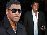House fire: Music producer Kenneth 'Babyface' Edmonds, shown in March in New York City, had firefighters called to his Los Angeles house on Saturday after a blaze broke out in his bathroom