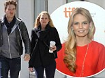 Couple no more: Jennifer Morrison and Sebastian Stan, shown together in March 2012 in Canada, have ended their relationship after they 'grew apart'