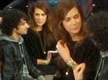 Back together? Kristen Wiig has a ball with ex-boyfriend Fabrizio Moretti at New York Knicks game