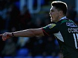 Barking orders: James O'Connor showed sparks of what he's capable of in his London Irish debut