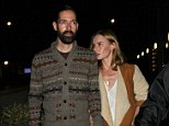 Cute couple: Kate Bosworth and Michael Polish attend a screening of their film Big Sur in West Hollywood