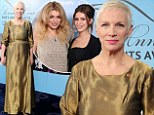 Annie Lennox and her daughters