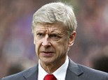 Waiting game: Arsene Wenger will only discuss a new Arsenal deal once they have qualified for the next phase of the Champions League
