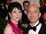 Own write: MacKenzie Bezos (left) is a novelist and has been married to Jeff Bezos (right) for 20 years