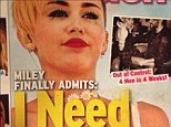 Jokes on you! Miley Cyrus made In Touch's latest magazine cover her newest profile picture for Twitter over the weekend