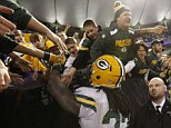 Clash: The Green Bay Packers host their rivals the Chicago Bears on Monday Night Football at Lambeau Field