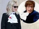 Rita Ora and Austin Powers