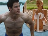 Nick Jonas shows off his killer abs while Isabel Lucas strips down to a tiny bikini in new trailer for Careful What You Wish For