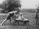 Almost 100-years-ago: This 1925 photo shows life on the Tuttle Farm as it once was