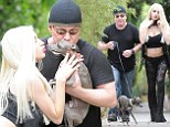EXCLUSIVE: 'Why we split': Courtney Stodden, 19, and Doug Hutchison, 53, spill on divorce.. and who'll get custody of dog Dourtney