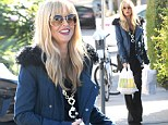 She really IS eating for two! Stylish Rachel Zoe satisfies her pregnancy craving with a generous portion of gourmet takeout