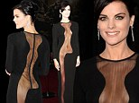 Is this the most daring red carpet dress EVER? Jaimie Alexander didn't hold back with her outfit choice for the premiere of Thor: The Dark World at the El Capitan Theatre in Los Angeles on Monday night