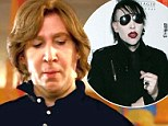 Pictured: Marilyn Manson goes make-up free for his cameo on his favourite TV show Eastbound & Down