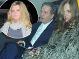 Table for three! Trinny Woodall and Charles Saatchi are joined by Susannah Constantine for yet another Scott's date night