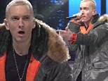 Did Eminem lip-sync on SNL? Rapper accused of miming his way through performance on the live show