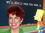 'We'll really miss you Mrs K': Bart writes touching tribute to Marcia Wallace on latest episode of The Simpsons