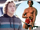 Just like Arnie! Schwarzenegger's love child Joseph Baena is the spitting image of his father as he flashes a smile on shopping trip